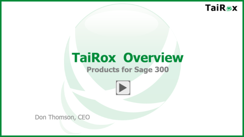 TaiRox Product Overview