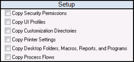 SOX User Management Options